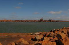 "Port Hedland, ""The  Port of big Ships"" Western Australia"