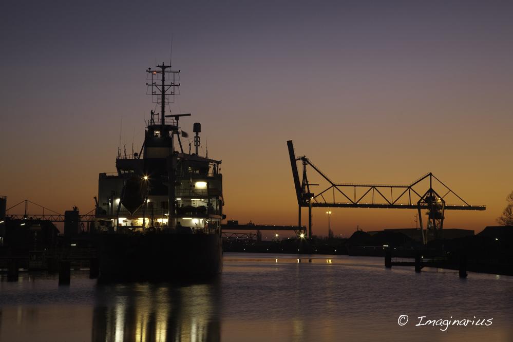 port of Bremen - Industriehafen in Bremen