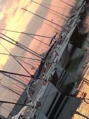 port orangé