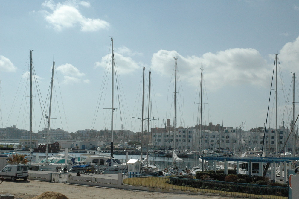 Port plaisance Monastir