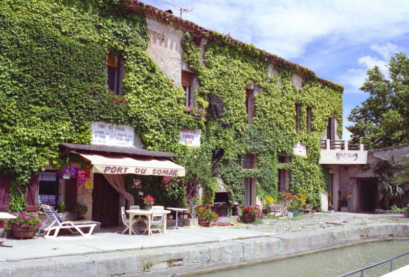 Port Somail am Canal du Midi