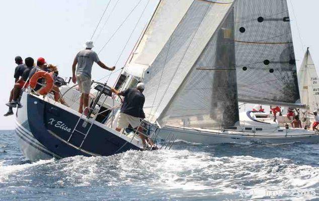 port starbord bei der Central European IMS Championship, Cres