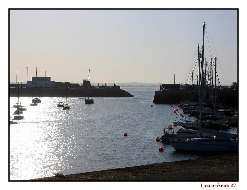 Port, un soir de lumière...