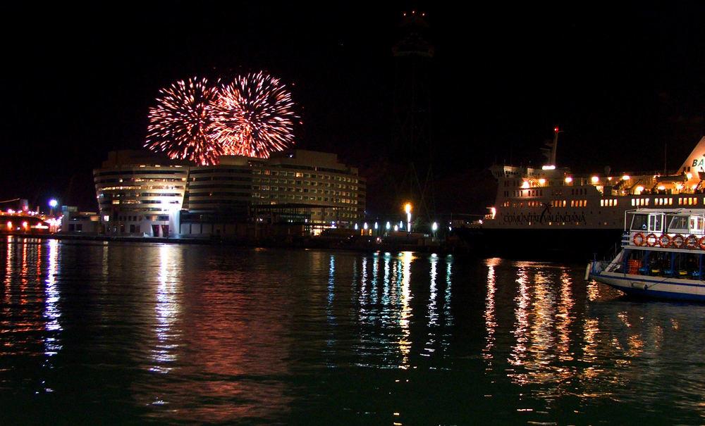 Port Vell's Fireworks
