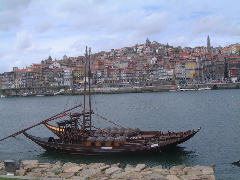 Port Wine Boats on Douro River, Porto