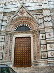 Porta della Catedrale di Siena