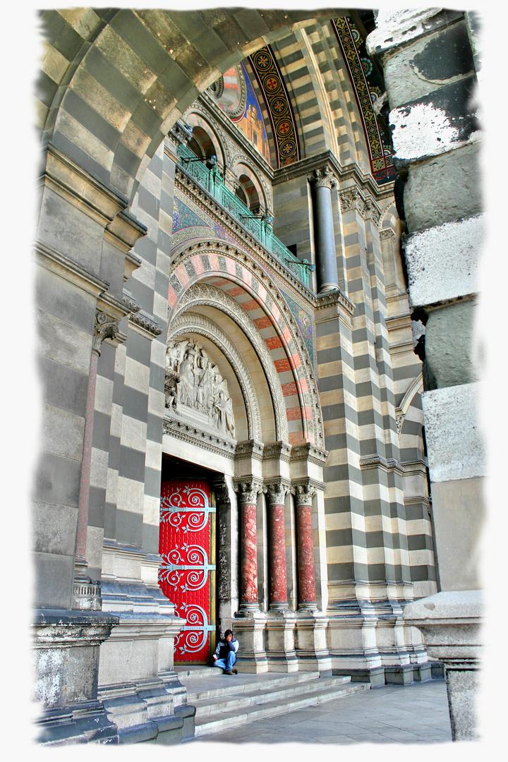 Portail Cathédrale de la Major - Marseille