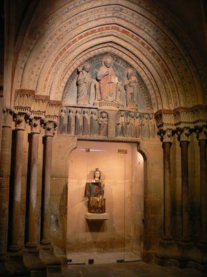 Portail de l'église de Kaysersberg