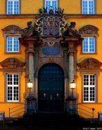 Portal des Schlosses in Osnabrück