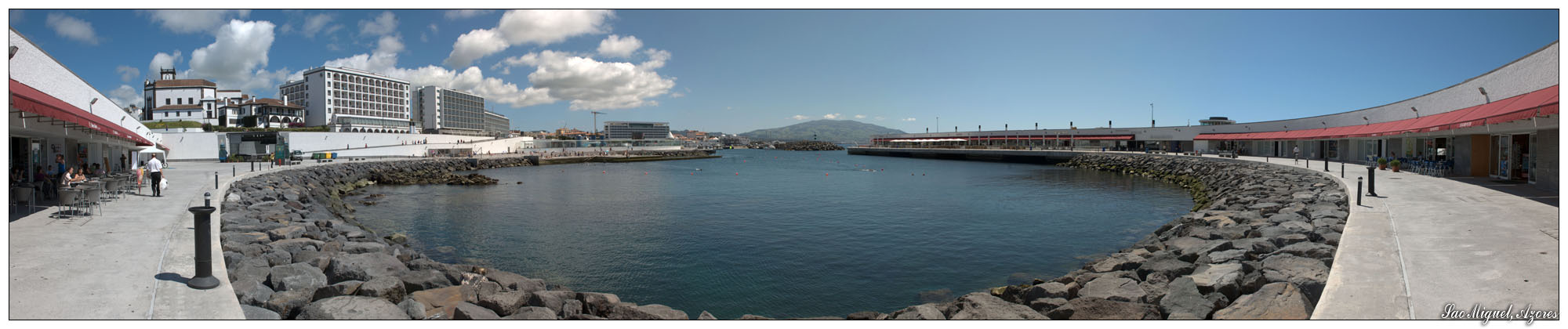 Portas do Mar in Ponta Delgada -2- (Sao Miguel, Azoren)