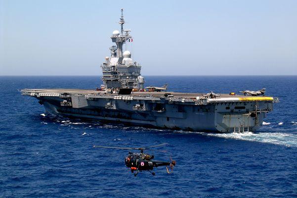 Porte-avions Charles de Gaulle - Mer Méditerranée (2007)
