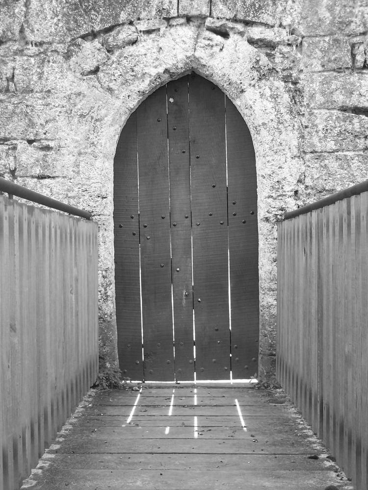 Porte de chateau...