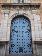 Porte d'entrée de l'Eglise de la Vierge de Consuelo  --  Altea