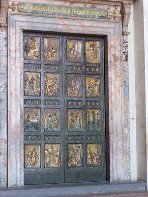 Porte du vatican