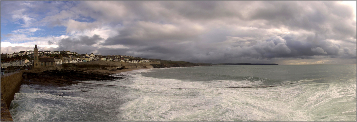 Porthleven from the Sea
