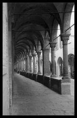 Portici in via San Francesco