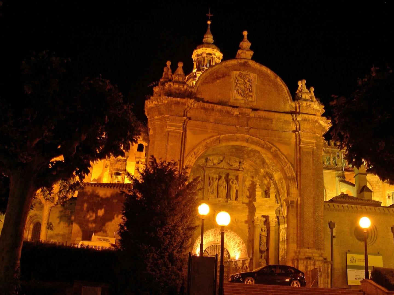 Portico Catedral de Tarazona