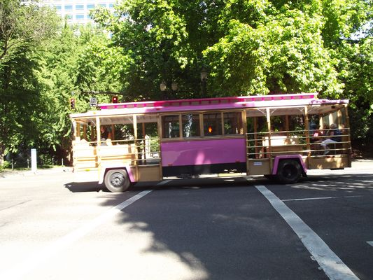 Portland bus sunday !
