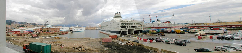 Porto di Genova - Partenza
