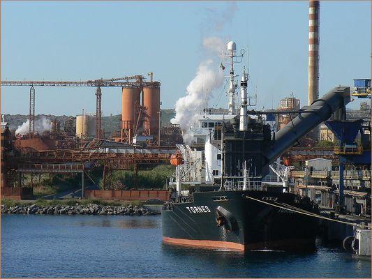 Porto industriale / commerciale di Portovesme