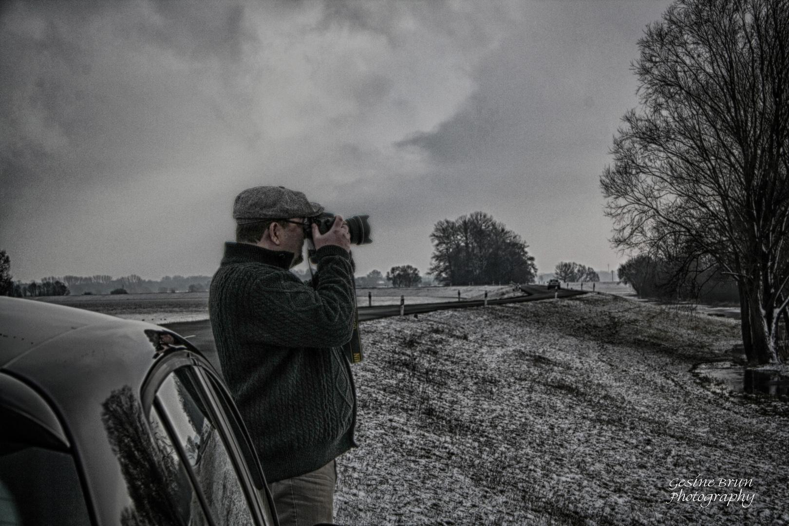 Porträt eines Fotografen