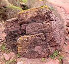 Porträt eines Steinblocks