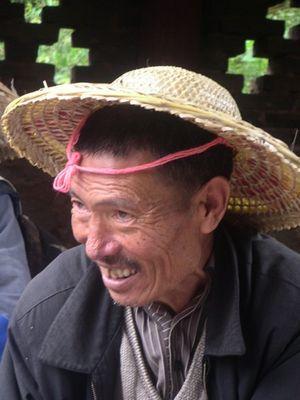 Porträt in der Provinz Yunnan