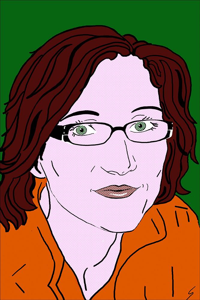 Portrait a la Lichtenstein