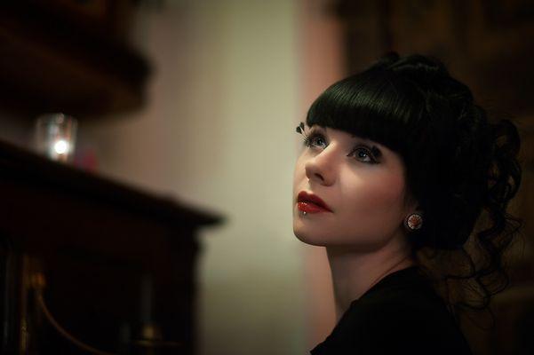 Portrait am Piano