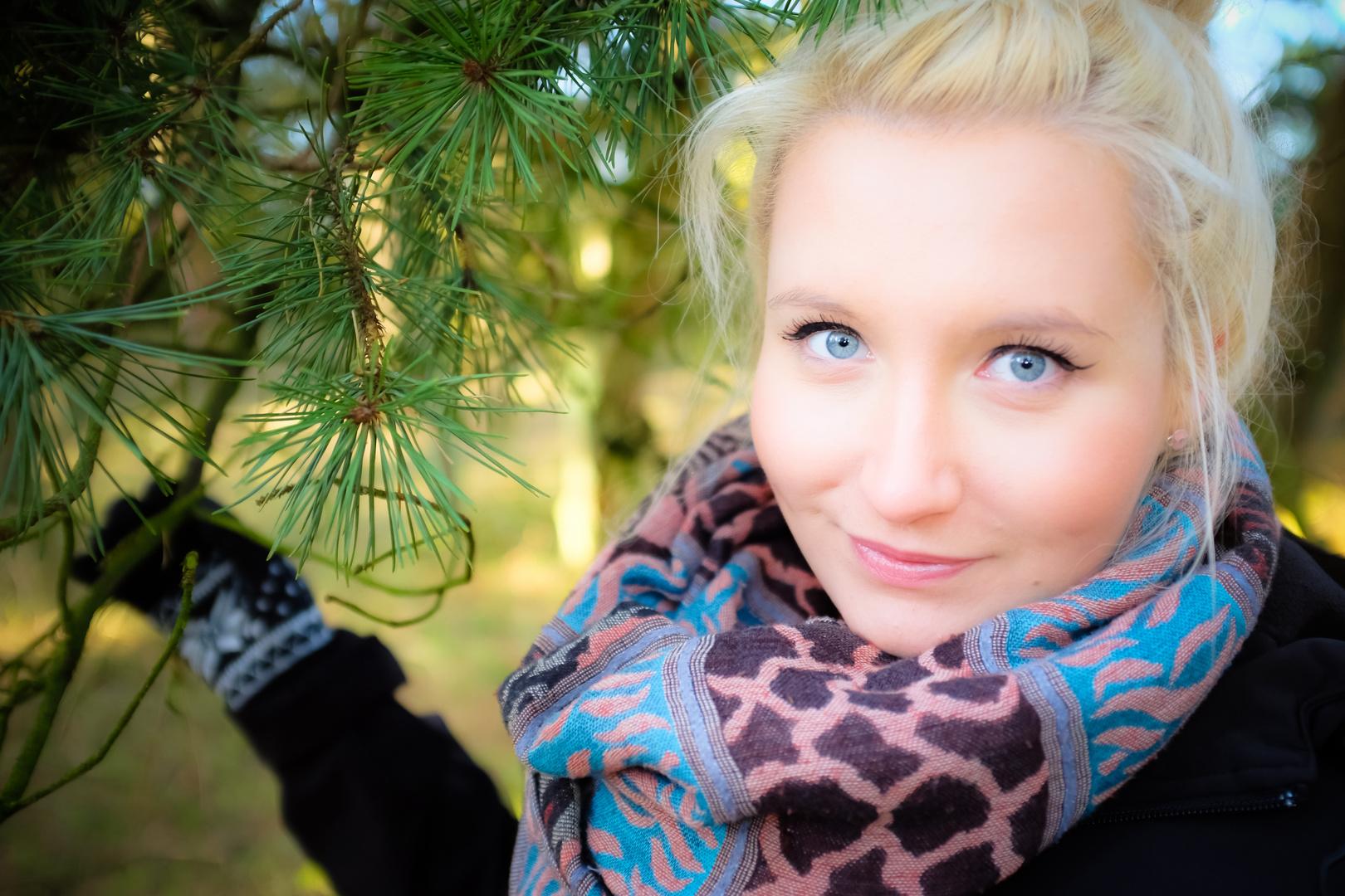 Portrait am Wald