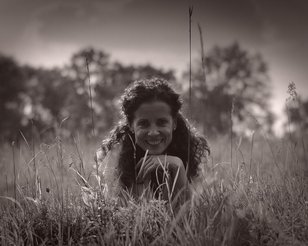 Portrait auf der Wiese