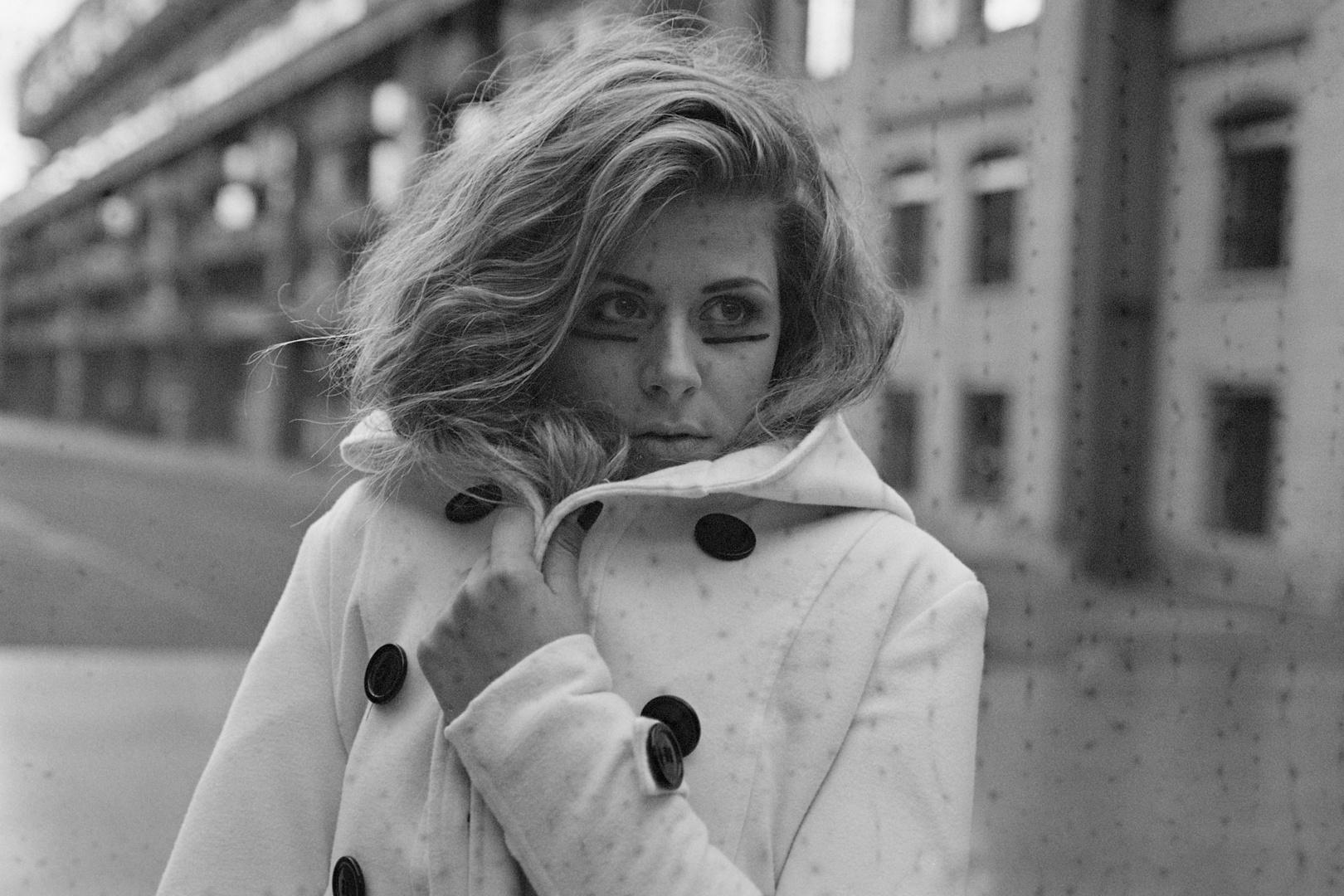 Portrait auf s/w- Film