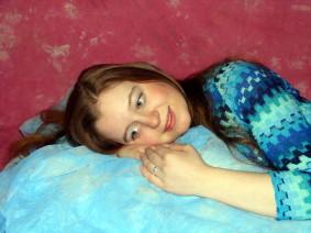 portrait Aufnahme von meiner Nichte