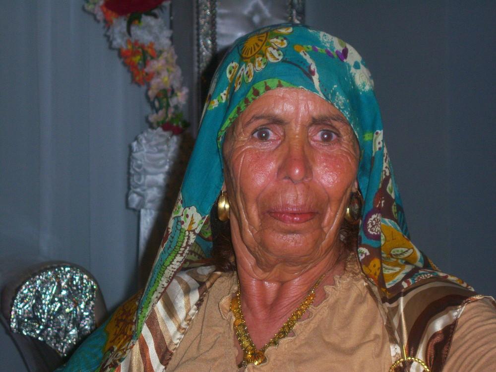 Portrait de femme ...