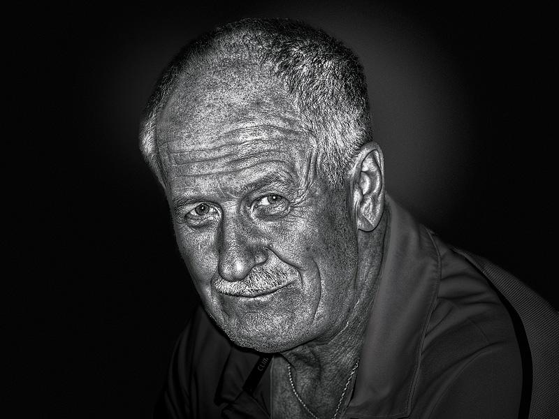 Portrait de l'homme