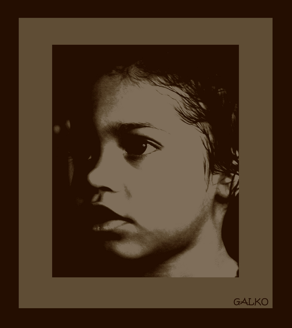 portrait d'eden