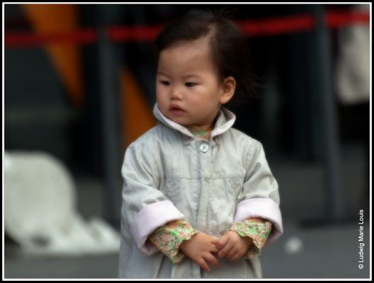 Portrait d'enfant 1)
