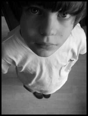 Portrait d'enfant.