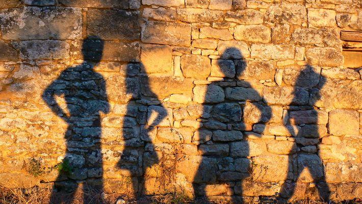Portrait des ombres