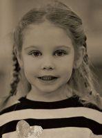 Portrait d'une jolie fillette...