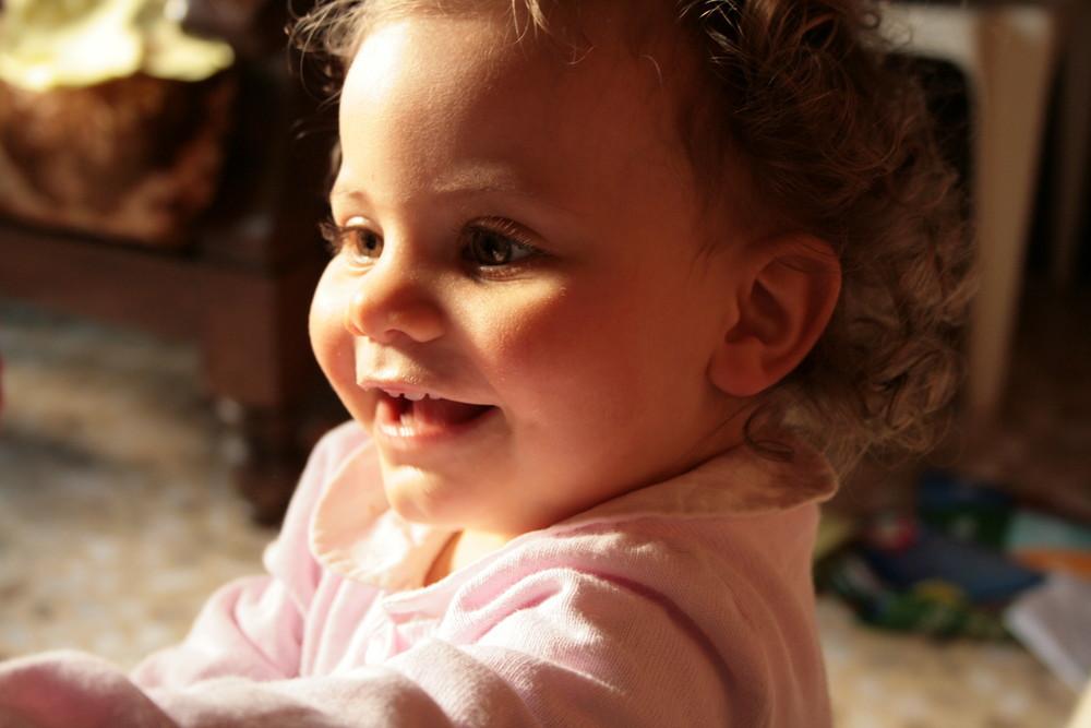 Portrait d'une petite chipie =)