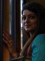 Portrait einer indischen Filmschauspielerin
