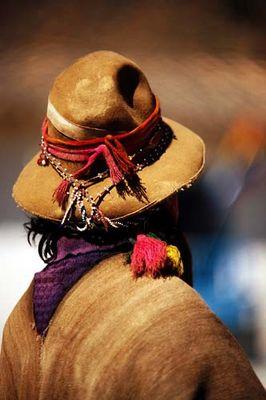Portrait eines Indios