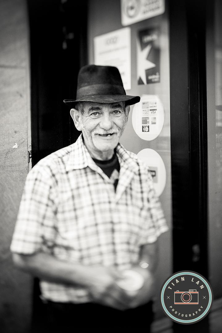 Portrait eines Obdachlosen #2