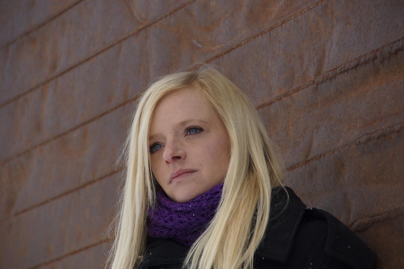 Portrait im Steinbruch