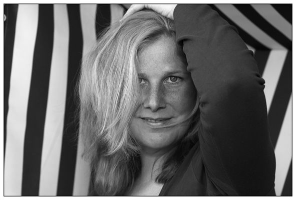 Portrait im Strandkorb