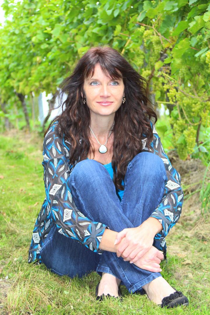 Portrait in den Weinbergen
