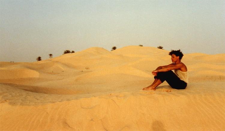 Portrait in der Wüste