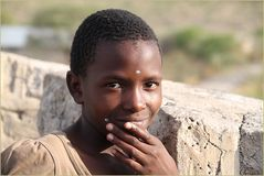 Portrait ... in Namibia