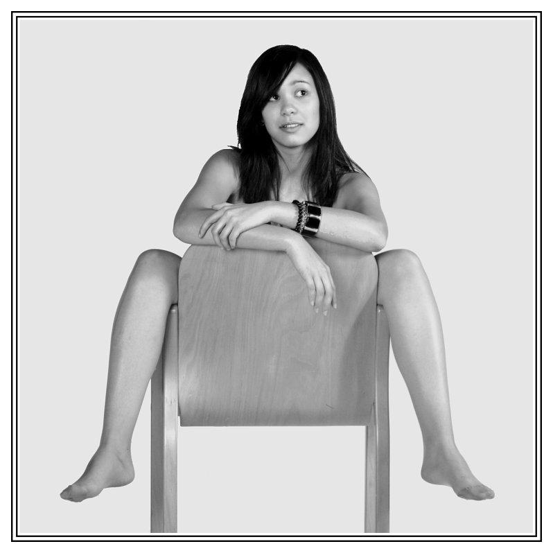 Portrait mit diversen Beinen